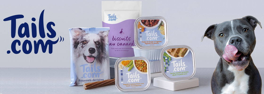 Après les croquettes sur mesure, Tails.com lance de nouveaux produits pour chien !