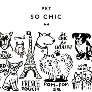 Petsochic, la marque de mode des chiens et chats stylés !