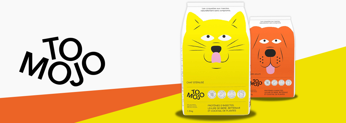 Première mondiale : Tomojo, les premières croquettes aux insectes pour chats