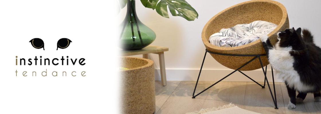 La nouvelle marque Française « Instinctive Tendance » lance une ligne de mobilier contemporain pour  les animaux de compagnie.