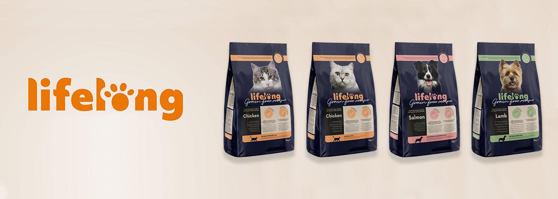 Amazon lance sous la marque « Lifelong » une nouvelle gamme de croquettes sans céréales