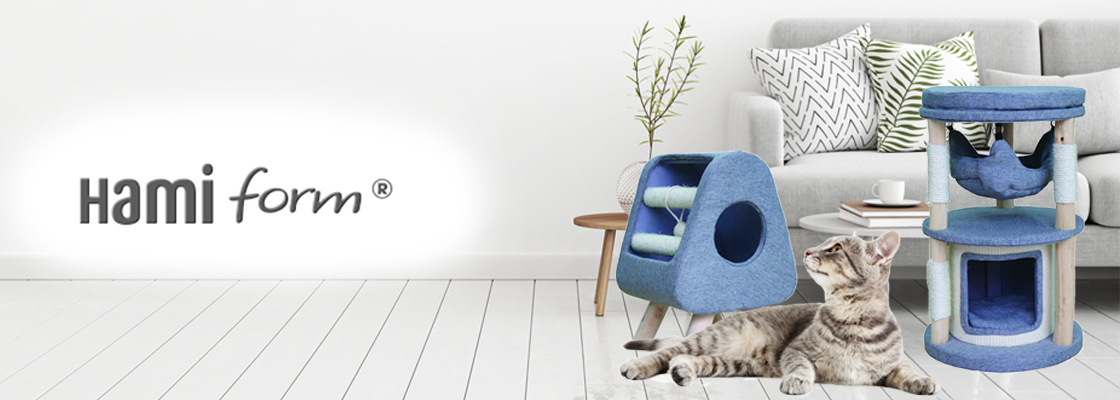 Hamiform : Les nouveaux arbres à chat