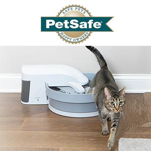 Petsafe : la propreté des chats en trois bacs à litière