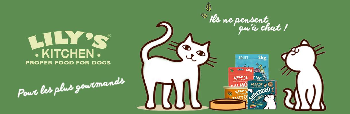 Lily's Kitchen : 3 nouvelles versions de ses recettes et une gamme de friandises pour chat