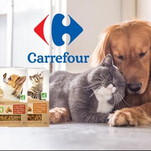 Carrefour : Du bio pour nos animaux à quatre pattes