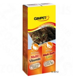 Lot Gimpet Multi + Malt pour chat