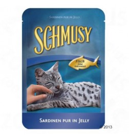 Sachets fraîcheur Schmusy poisson