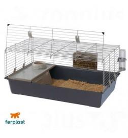 Cage Rabbit 100 pour lapin et cochon d'inde