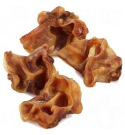 Pavillons d'oreilles de porc pour chien