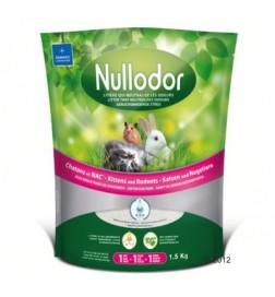 Litière de silice Nullodor pour chaton et rongeur