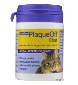 Soin dentaire ProDen PlaqueOff pour chat