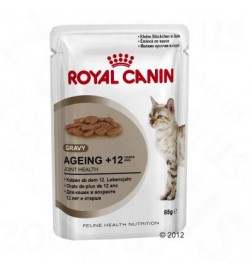 Sachets fraîcheur Ageing +12 pour chat