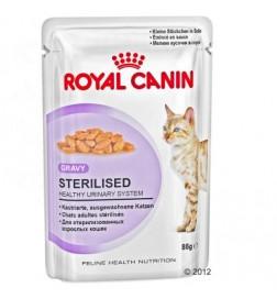 Sachets fraîcheur Sterilised pour chat