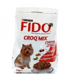 Fido Croq Mix chiens de moins de 25kg