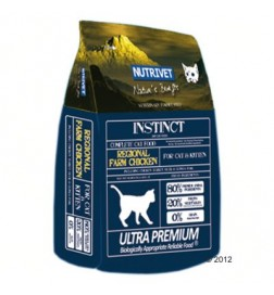 Nutrivet Instinct Regional Farm Chicken pour chat