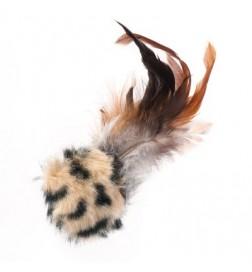 Balle sonore avec plumes