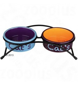 Gamelles en céramique Eat on Feet pour chat