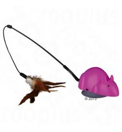 Canne à pêche Trixie Crazy Mouse & jouets interchangeables