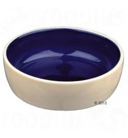 Gamelle en céramique bicolore pour chien et chat