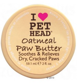 Beurre  pour coussinets Pet Head Oatmeal