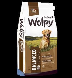 Croquettes Wolpy Equilibre pour chiens