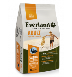 Croquettes premium M&L ADULT au saumon pour chiens