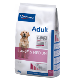 Croquettes Veterinary HPM Adult Large & Medium