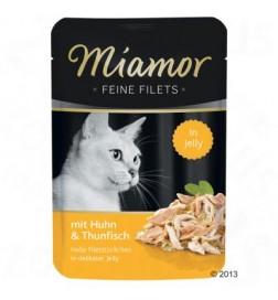 Sachets fraîcheur Miamor Filets fins en gelée