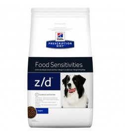 Prescription Diet Canine z/d Food Sensitivities pour chien