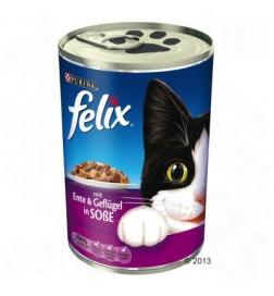 Boîtes Felix Mijotés en sauce