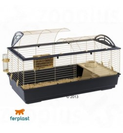 cage casita 120 pour lapin et cochon d 39 inde ferplast pas. Black Bedroom Furniture Sets. Home Design Ideas