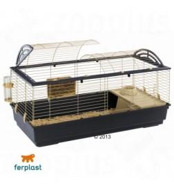 cage casita 120 pour lapin et cochon d 39 inde ferplast. Black Bedroom Furniture Sets. Home Design Ideas