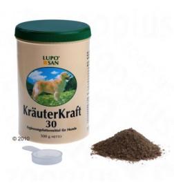 Complément Luposan Kräuterkraft 30 en poudre pour chien