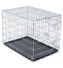 cage de transport pour chien autre pas cher achat. Black Bedroom Furniture Sets. Home Design Ideas