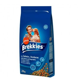 Brekkies Excel Adulte Mix Poissons croquettes pour chiens