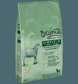 Beyond Simply 9 chien adulte riche en agneau avec orge complète