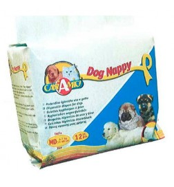Couches jetables pour chiens