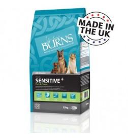 Burns Sensitive+ porc et pomme de terre pour chien