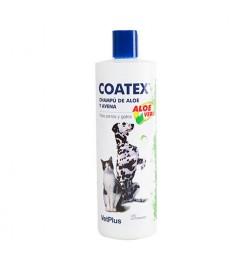 Coatex shampoing à l'avoine et l'aloe vera peaux sèches pour chiens