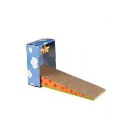 Griffoir pliable en carton