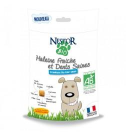 Haleine fraîche et dents saines pour chien