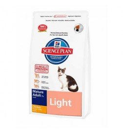Hill's Science Plan Feline Light Senior