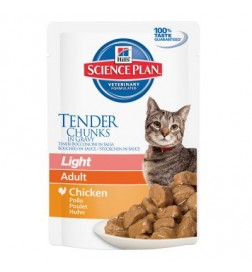 Sachets fraîcheur Hill's Feline Adult Light