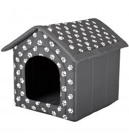 Maison avec toit en fermeture éclair
