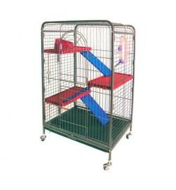 Grande Cage à Furets 3 étages
