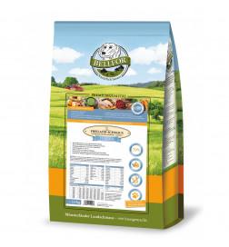 Nourriture sèche avec poulet pour chiens sans céréales - Freiland-Schmaus Junior