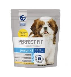 Croquettes Perfect Fit™ Junior (moins d'1 an) <10kg riche en poulet