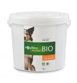 Croquettes pour chien BIO seau de 5 kg