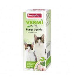 Vermipure purge liquide pour chat