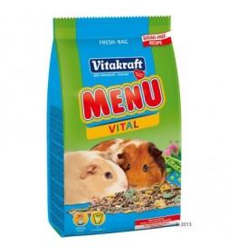 Menu Vital pour cochon d'inde